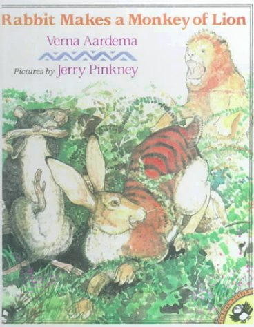 9780785796909: Rabbit Makes a Monkey of Lion: A Swahili Tale (Picture Puffins)