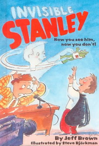 Invisible Stanley (Trophy Chapter Books): Brown, Jeff