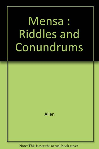9780785804253: Mensa: Riddles and Conundrums
