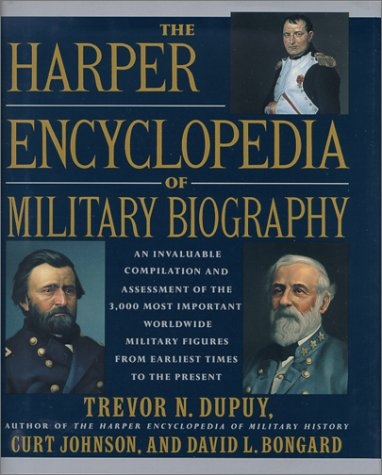 9780785804376: The Harper Encyclopedia of Military Biography