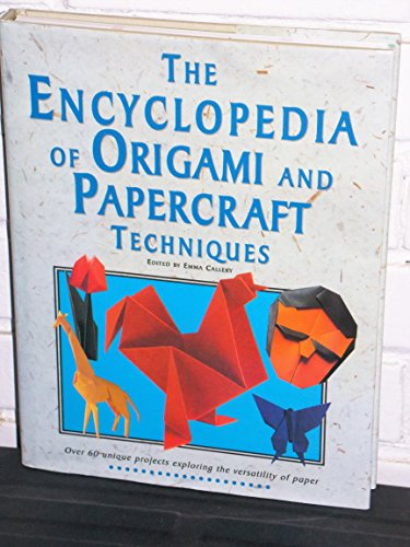 9780785804413: Encyclopedia of Origami and Papercraft Techniques