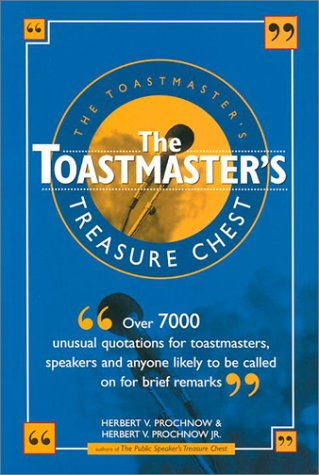 9780785815341: The Toastmaster's Treasure Chest