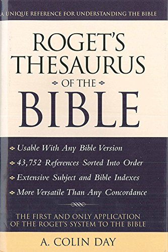 9780785817086: Roget's Thesaurus of the Bible