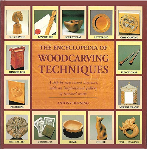 9780785818021: Encyclopedia of Woodcarving Techniques: With Flaps