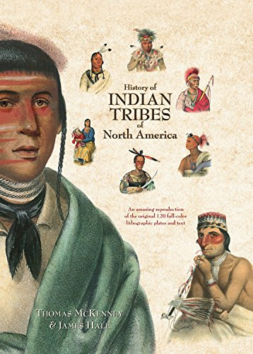 9780785820215: History of Indian Tribes of North America