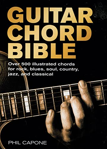 9780785820833: Guitar Chord Bible: Over 500 Illustrated Chords for Rock, Blues, Soul, Country, Jazz, and Classical