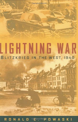 9780785820970: Lightning War: Blitzkrieg in the West, 1940