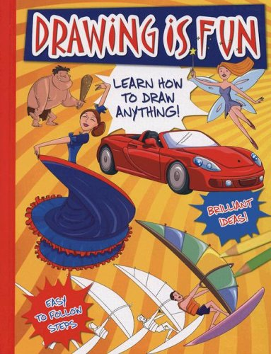 Drawing Is Fun: Learn How to Draw Anything!: Not Available (NA)