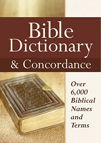 9780785825265: Bible Dictionary & Concordance