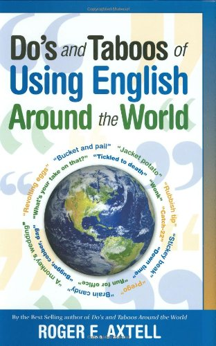 9780785825289: Do's and Taboos of Using English Around the World