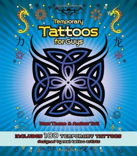 9780785826576: Temporary Tattoos for Guys: Includes 100 Temporary Tattoos