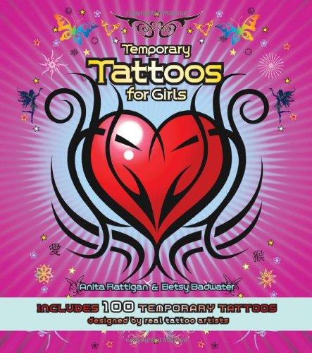 9780785826583: Temporary Tattoos for Girls: Includes 100 Temporary Tattoos