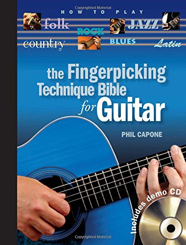 9780785826798: The Fingerpicking Technique Bible for Guitar