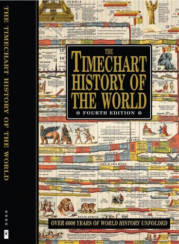 9780785827825: The Timechart History of the World: Over 6000 Years of World History Unfolded (Timechart series)