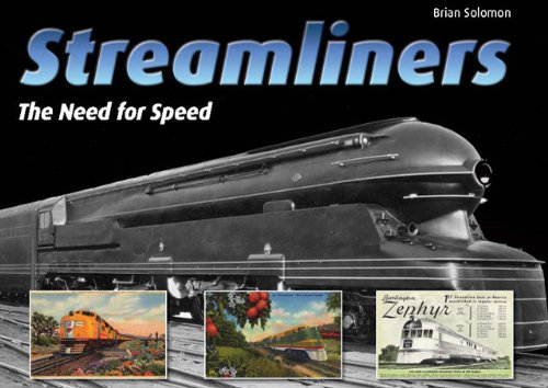 Streamliners: The Need for Speed (0785828117) by Brian Solomon