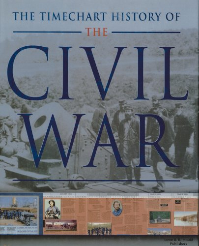 The Timechart History of the Civil War (Timechart series): David Gibbons