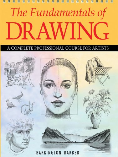 9780785828860: The Fundamentals of Drawing: A Complete Professional Course for Artists