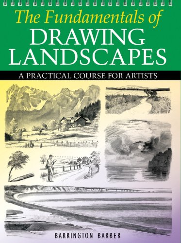9780785828877: The Fundamentals of Drawing Landscapes: A Practical and Inspirational Course