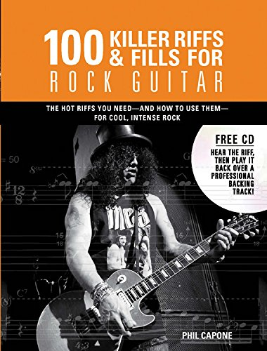 9780785828914: 100 Killer Riffs and Fills for Rock Guitar