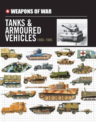 9780785829973: Weapons of War Tanks & Armored Vehicles 1900-1945 (Weapons of War (Smart Apple Media))