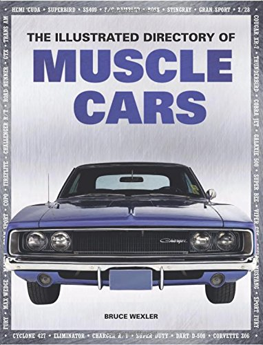 9780785830306: The Illustrated Directory of Muscle Cars