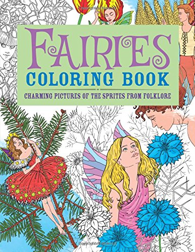 9780785830405: Fairies Coloring Book: Charming Pictures of the Sprites from Folklore (Chartwell Coloring Books)