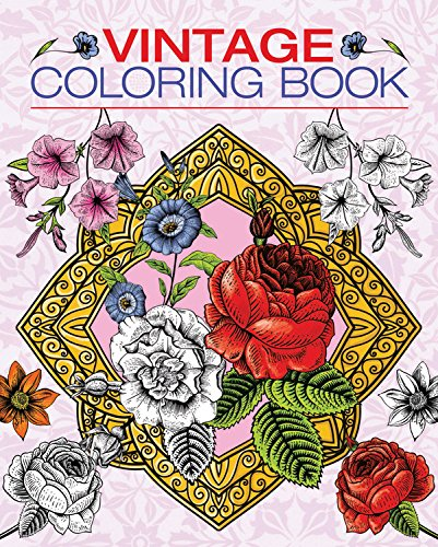 9780785833710: Vintage Coloring Book (Chartwell Coloring Books)