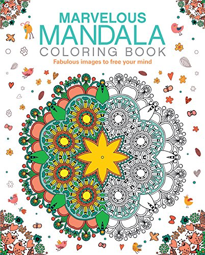 Marvelous Mandala Coloring Book Format: Paperback by Arcturus ...