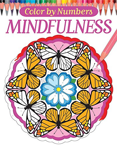 9780785834113: Color By Numbers - Mindfulness (Chartwell Coloring Books)