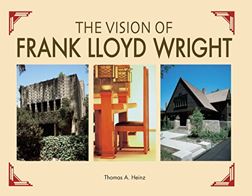 9780785834427: The Vision of Frank Lloyd Wright: A complete guide to the designs of an architectural genius