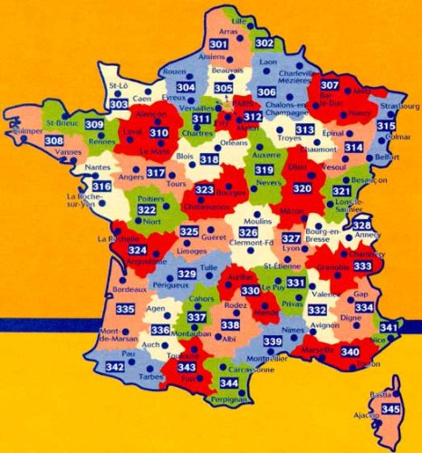 9780785901624: Michelin Local Map Number 332: Drome, Vaucluse, Valence, Avignon (France) and Surrounding Area, Scale 1cm=5km (French Edition)