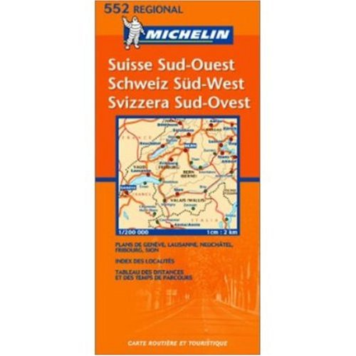 9780785901945: Michelin Map No. 217 Geneva (Geneve) Bern Andermatt (Switzerland Suisse)