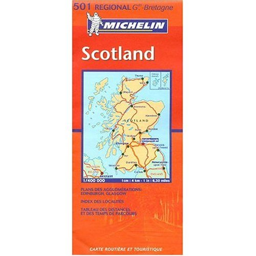 9780785902522: Michelin Map No. 501 Scotland