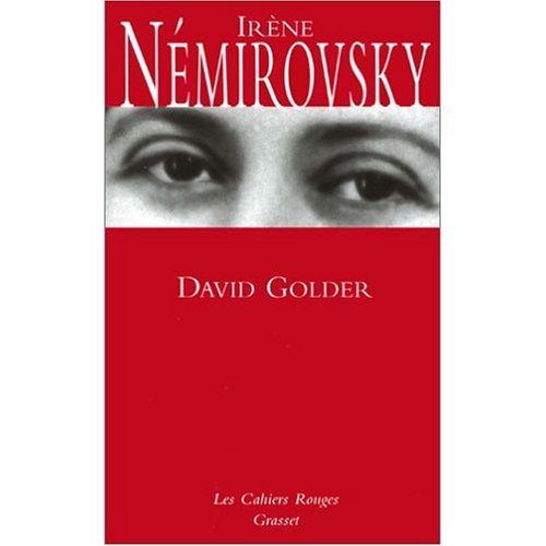 9780785905875: David Golder (in French)