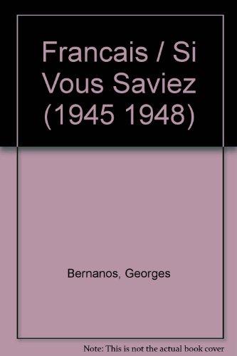 9780785906339: Francais / Si Vous Saviez (1945 1948)