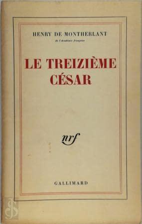 9780785913351: Le\Treizieme Cesar