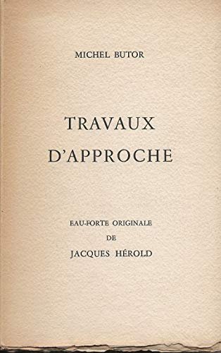 9780785927716: Travaux d'Approche