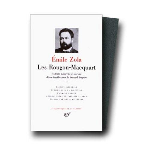 9780785938064: Les Rougon-Macquart Volume 2 / Son Excellence Eugene Rougon / L'Assommoir / Une Page d'Amour / Nana (Bibliotheque de la Pleiade)