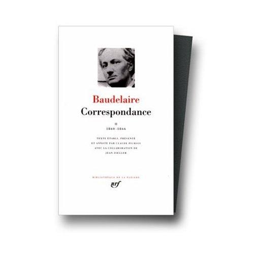 9780785938255: Correspondance (Bibliotheque de la Pleiade) Vol. 2 1860- 1866