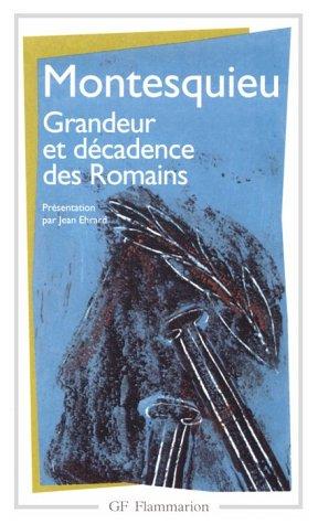 9780785946526: Considérations sur les causes de la grandeur des romains et de leur décadence.