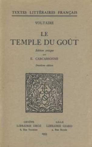 9780785955177: Le\Temple du Gout