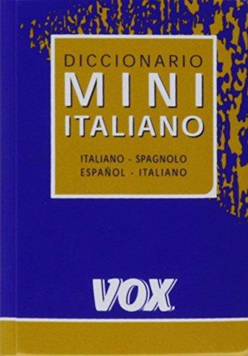 9780785961925: Diccionario Bolsillo Cuyas Italiano Espanol / Spagnuelo Italiano [Paperback] ...