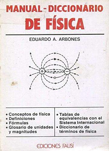 9780785964025: MANUAL-DICCIONARIO DE FISICA