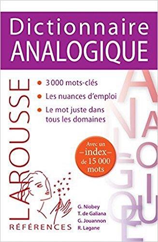 9780785976455: Larousse Dictionnaire Analogique