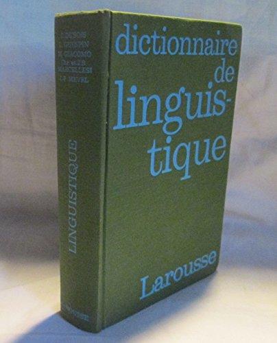 9780785976806: Dictionnaire de Linguistique et des Sciences du Langage