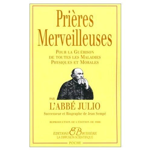 9780785982913: Les prieres merveilleuses de l'Abbe Julio (French Edition)