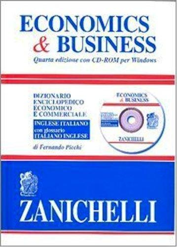 9780785988748: Economics & Business: Dizionario Enciclopedico Economico e Commerciale: Inglese-Italiano, Italiano-Inglese. Con CD-ROM