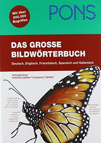 9780785989172: Pons Pictorial Dictionary GermanEnglishFrenchSpanish