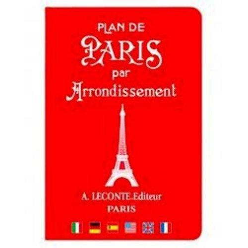 9780785990413: Plan de Paris par Arrondissement (French and English Edition)