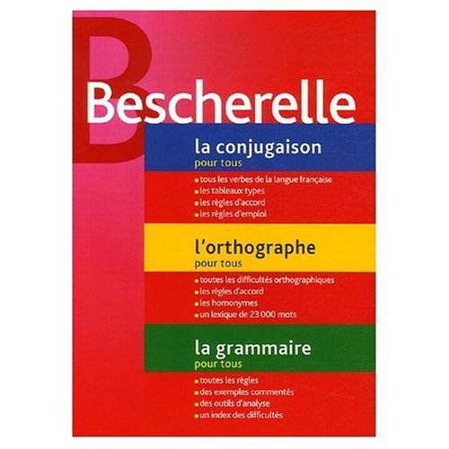 9780785992295: Etui Bescherelle: Conjugaison - Orthographe - Grammaire (Bescherelle three volumes in a slip case) (French Edition)